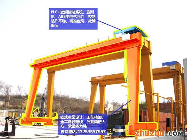 50吨欧式双梁龙门吊